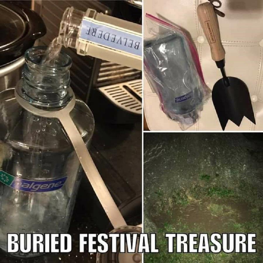 Как пронести водку на фестиваль под открытым небом