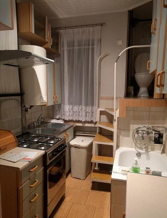Дизайнерское решение для малогабаритной квартиры