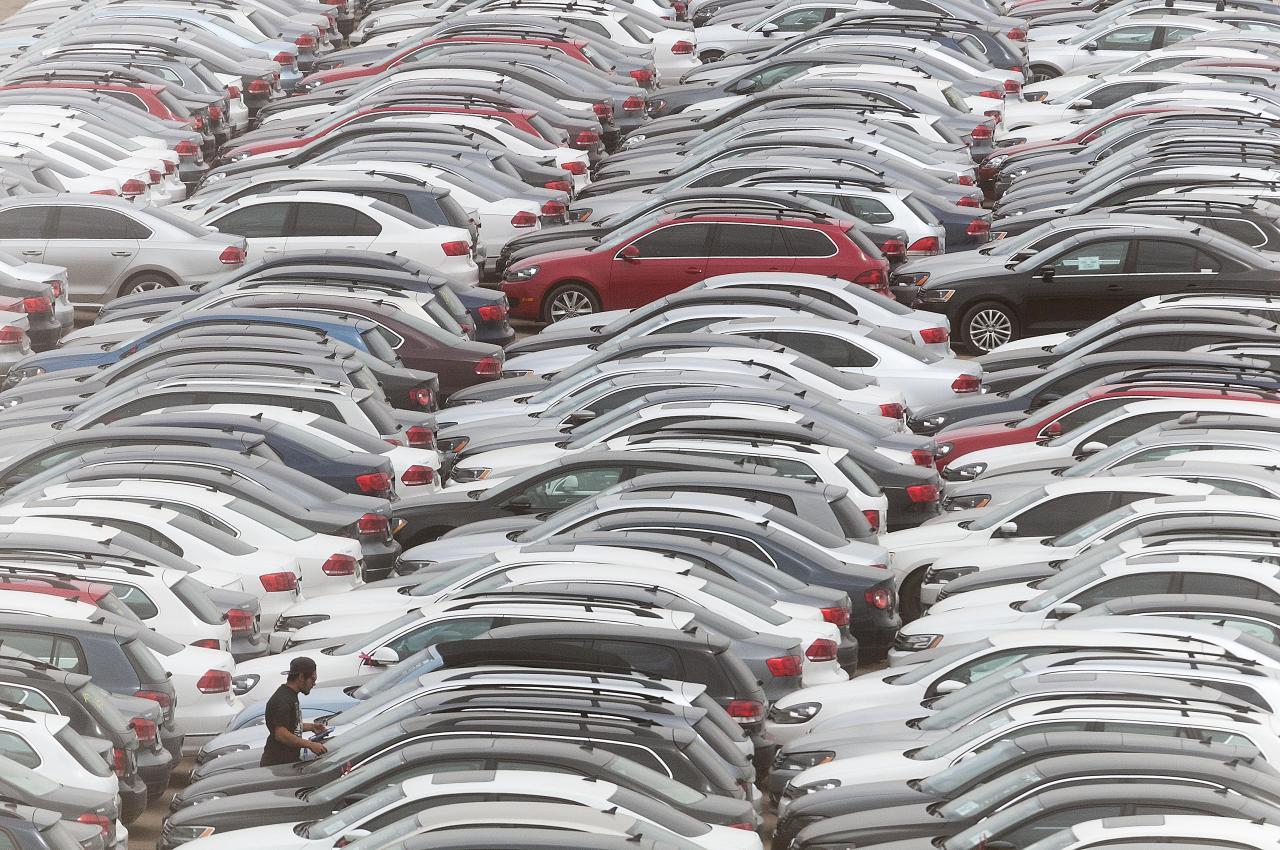 300000 тысяч дизельных Volkswagen и Audi ожидают в пустыне своей очереди на утилизацию