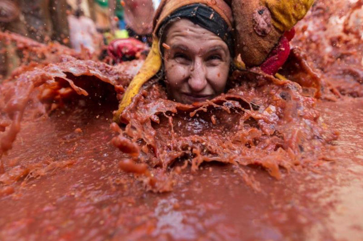 Велика помидорная битва. Как прошла Ла Томатина 2018