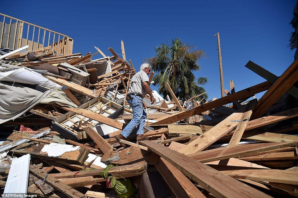 Сильнейший ураган разнес Флориду в щепки