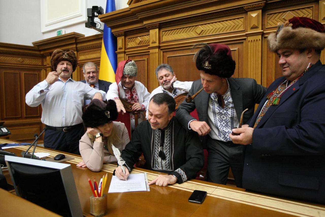 Украинские депутаты написали письмо Владимиру Путину