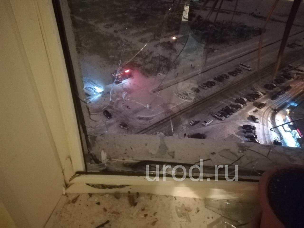 Новогодний салют разбил окно в Шушарах