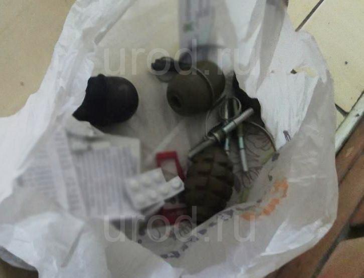 Пьяный киевлянин продавал гранаты в магазине