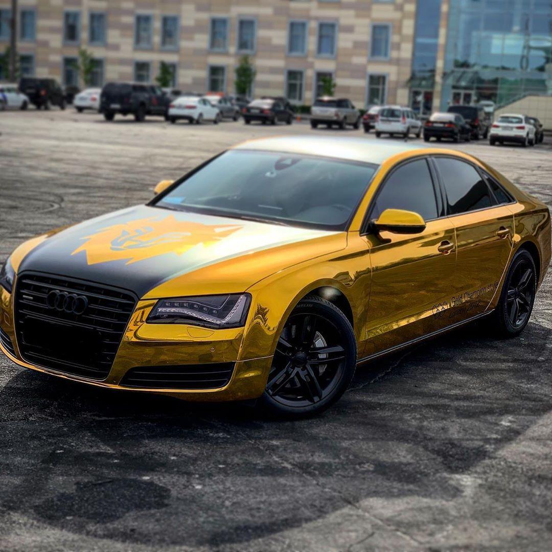 Золотую Audi волейболиста «Зенита» нашли в пруду с дырами от пуль.