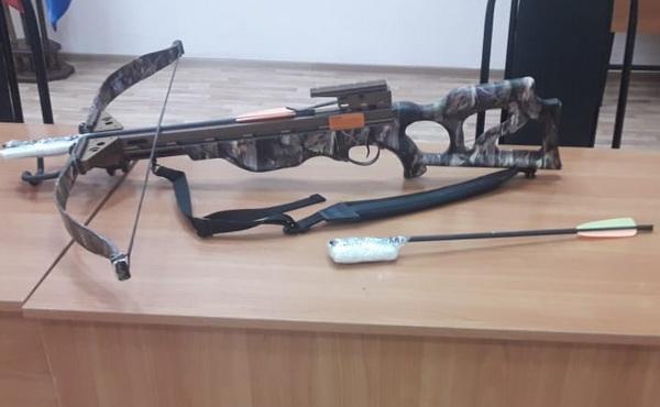 Мордовскую зону обстреляли из арбалета