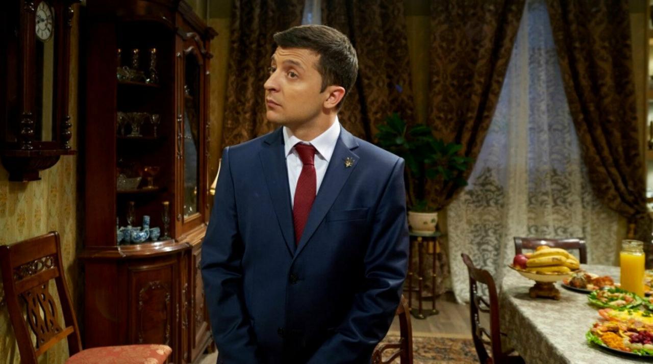После шутки Путин - Хубло телеканал ТНТ снял с эфира сериал «Слуга народа»