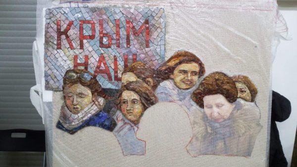 Главный храм Вооруженных сил украсят мозаикой с Путиным, Шойгу и Сталиным.