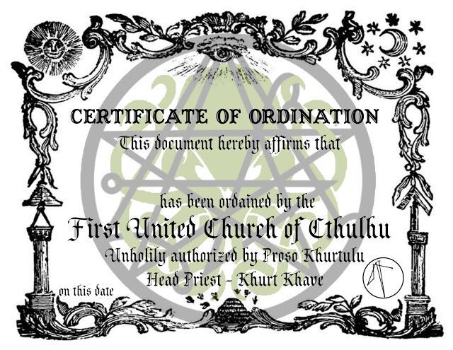 В США открылась официальная Церковь Ктулху
