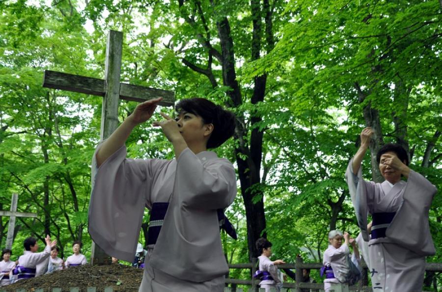 Безумная японская легенда: как Иисус жил в Японии, выращивал чеснок и был мастером дзен
