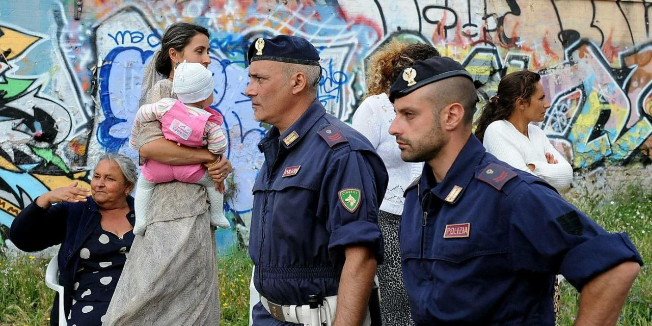 Цыганский беспредел в Италии. Что они творят?