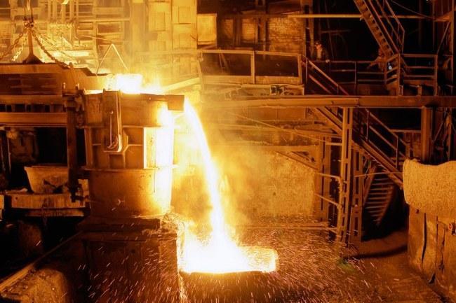 Шутники на металлургическом заводе