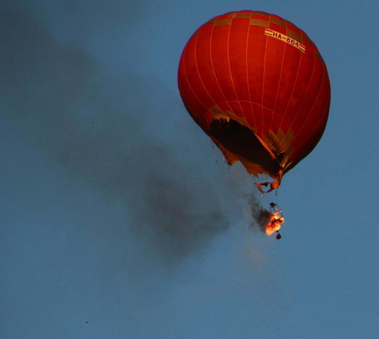 Пожар на воздушном шаре