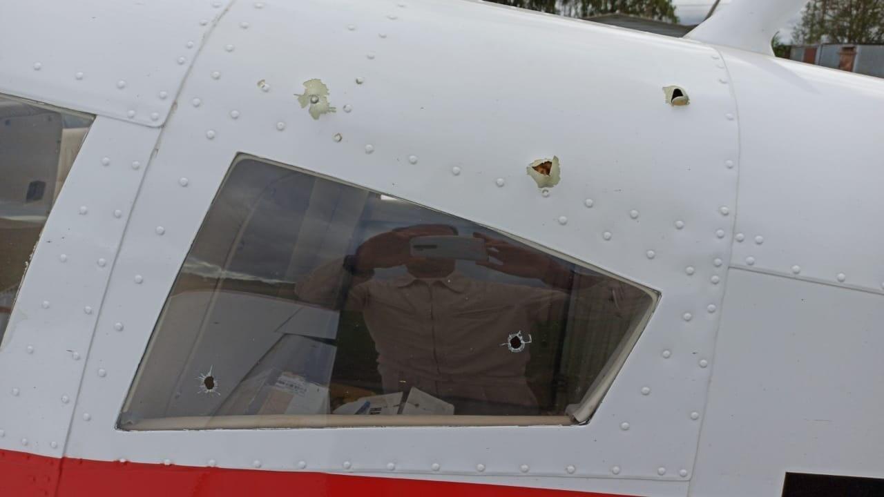 Пенсионер обстрелял легкомоторный самолет в Подмосковье