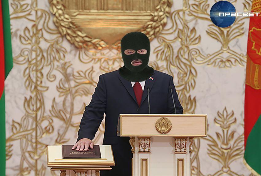 Тайная инаугурация Лукашенко на белорусском телевидении