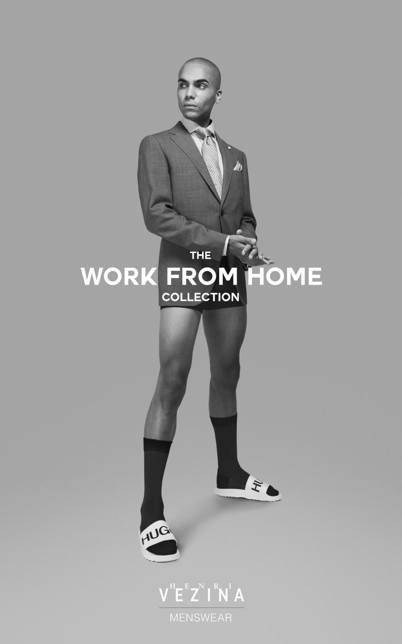 Канадский производитель деловой одежды выпустил специальную коллекцию для работы на удаленке