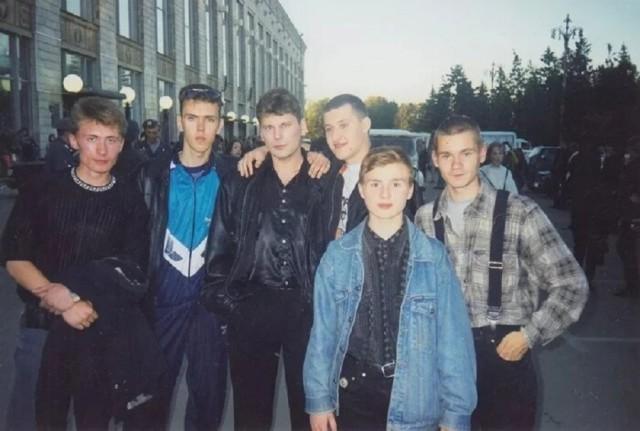 Архивные фотографии 90-х (известные люди)
