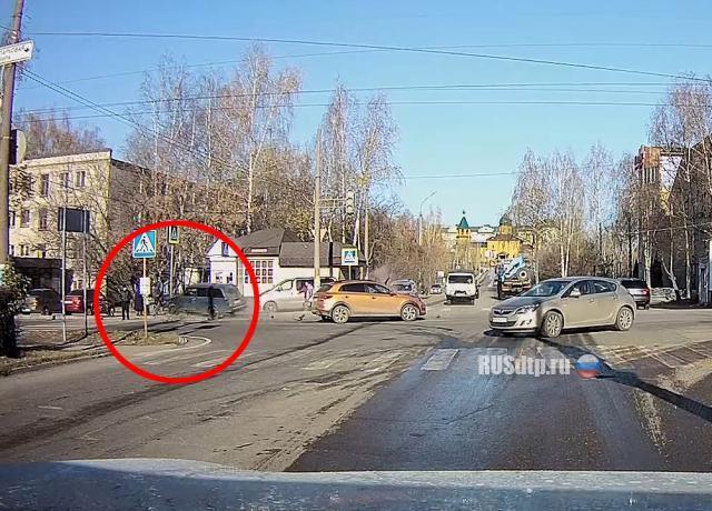 ДТП и наезд на пешехода в Арзамасе