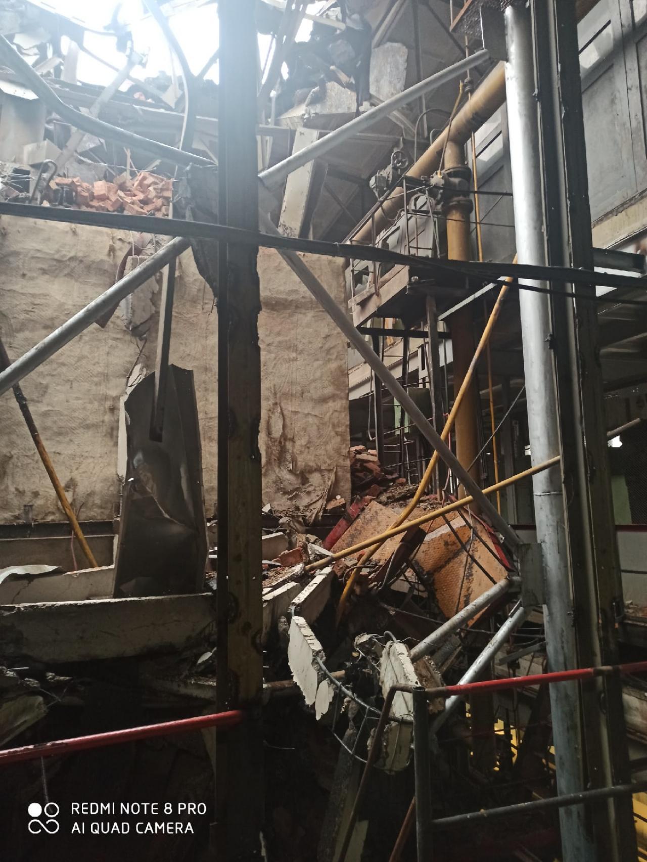 Взрыв на заводе в Вологде был похож на запуск космического корабля