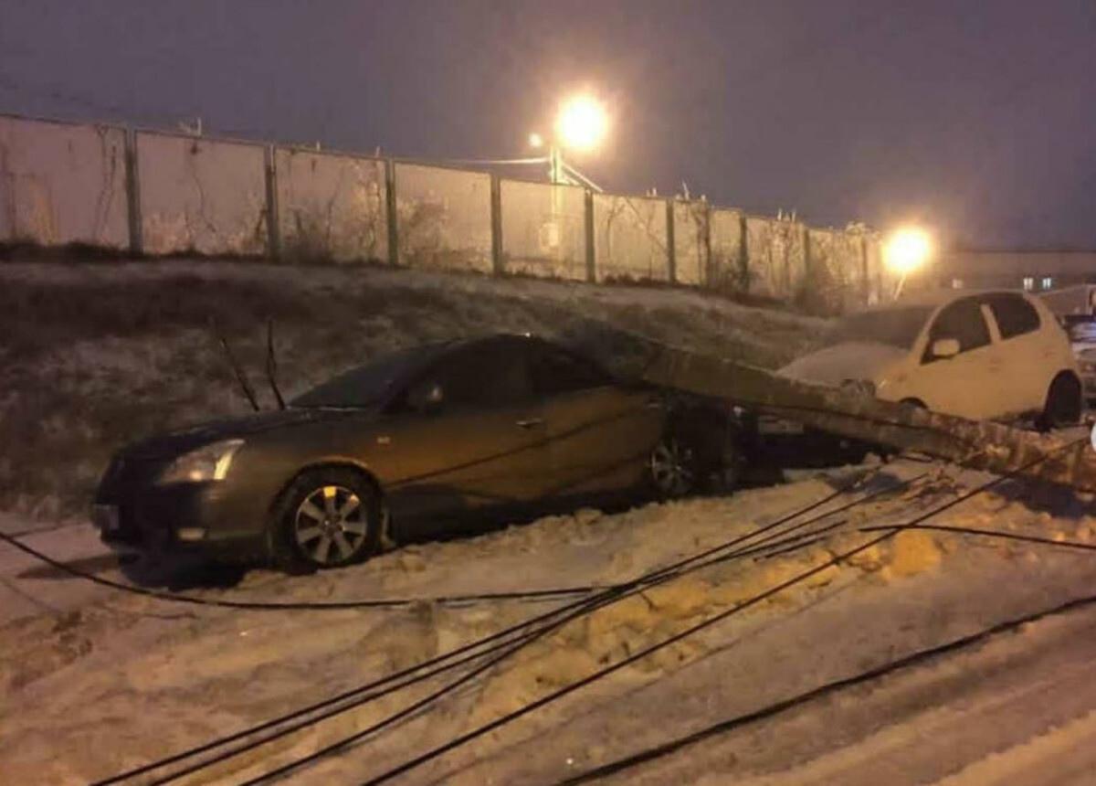 Ледяной шторм Владивостока