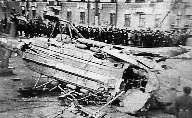 История рухнувшего Ка-27