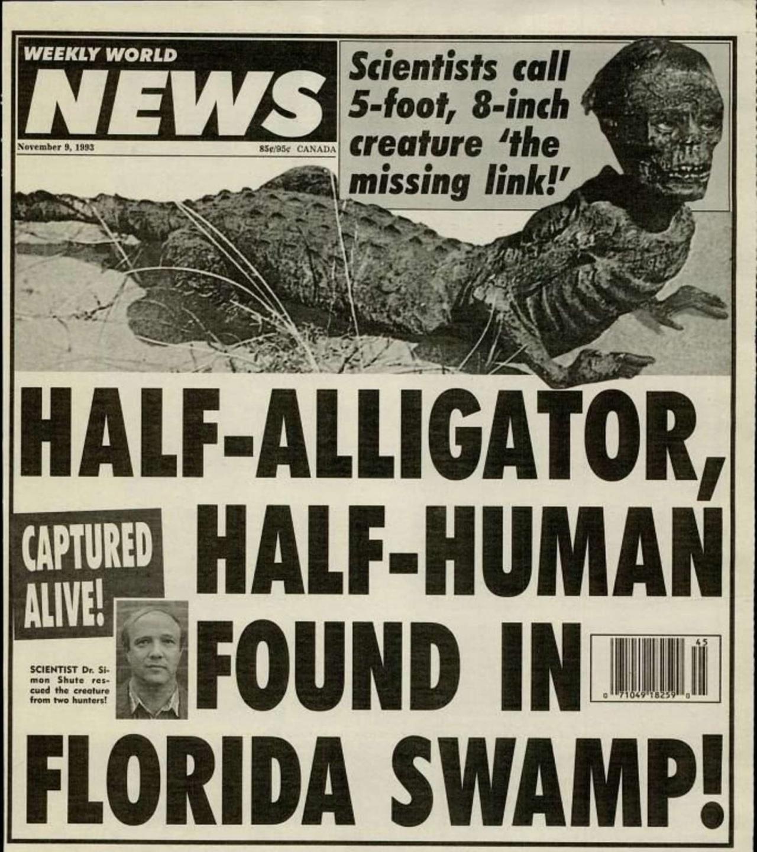 Джейк, человек-аллигатор