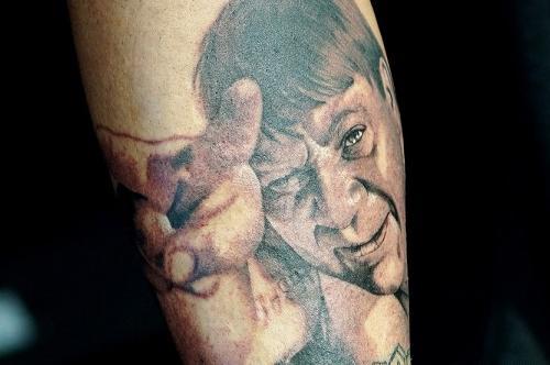 Татуировки фанатов отечественного кинематографа