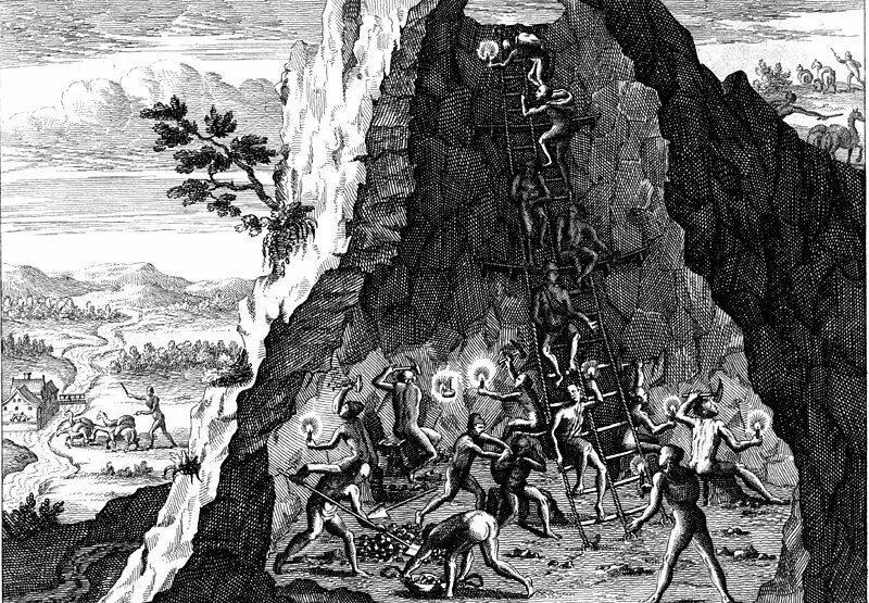 Эль Тио — бухающий дьявол, которому поклоняются шахтеры Серро-Рико