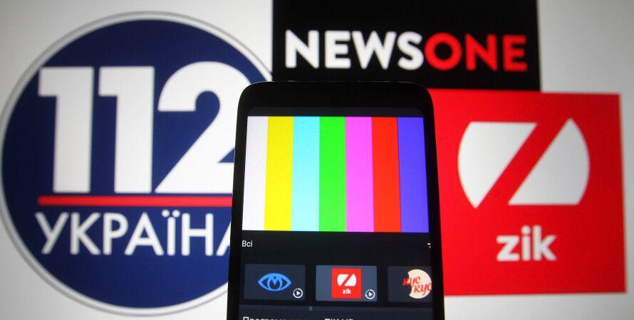 Пока мы следили за Навальным на Украине запретили телевизор