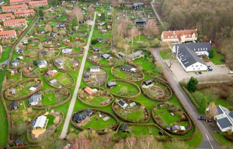 Уникальные общественные сады Копенгагена
