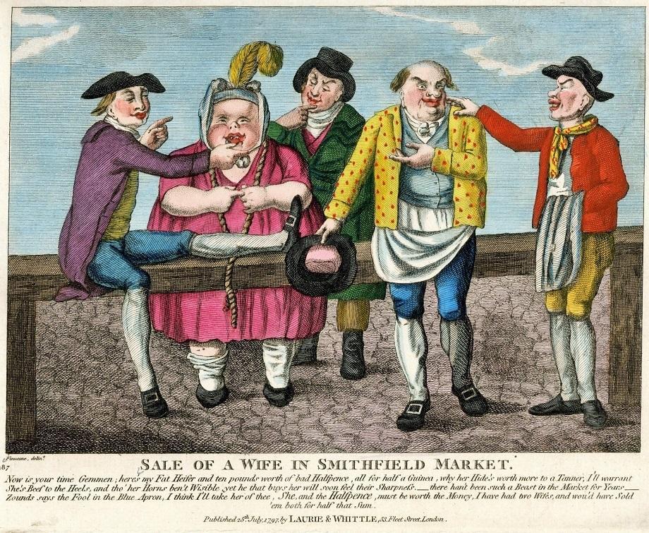 Продать жену за пинту пива — это нормально (в Англии XIX века)