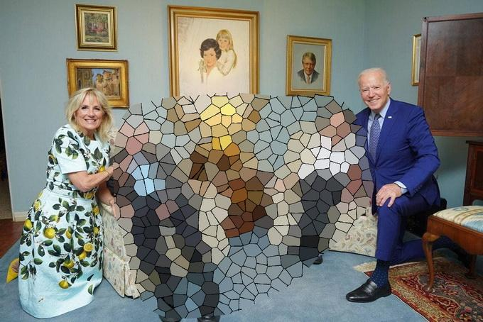 Появились снимки частной встречи Байдена и экс-президента США Картера