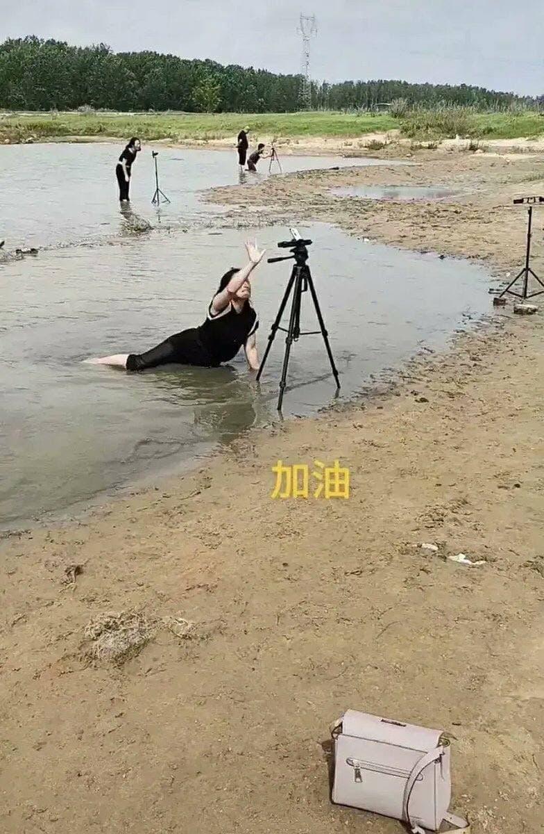 Китайцы зарабатывают на наводнении