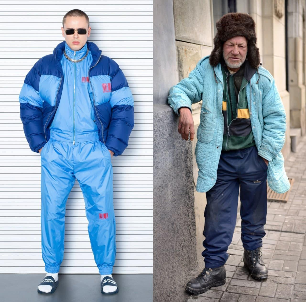 Иногда так хочется простого человеческого одеться как украинский бездомный
