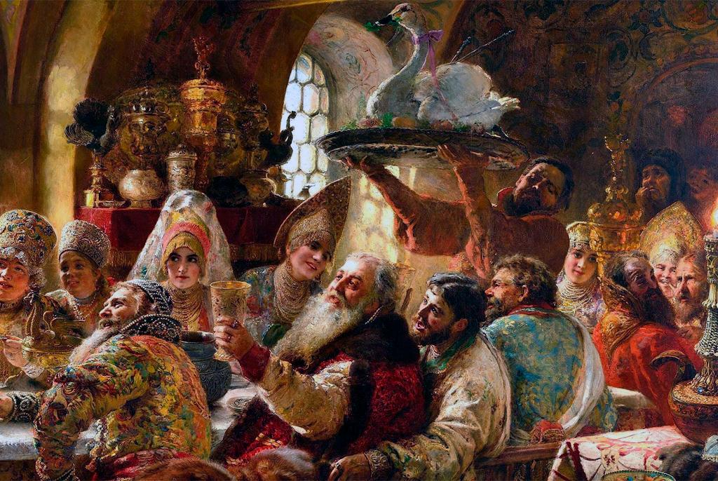 Что ели на пиру Ивана Грозного?