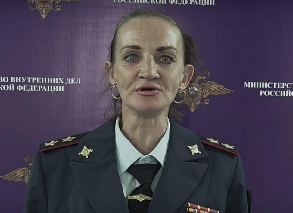 Спародировавшую генерала МВД Ирину Волк отправили в колонию на три месяца
