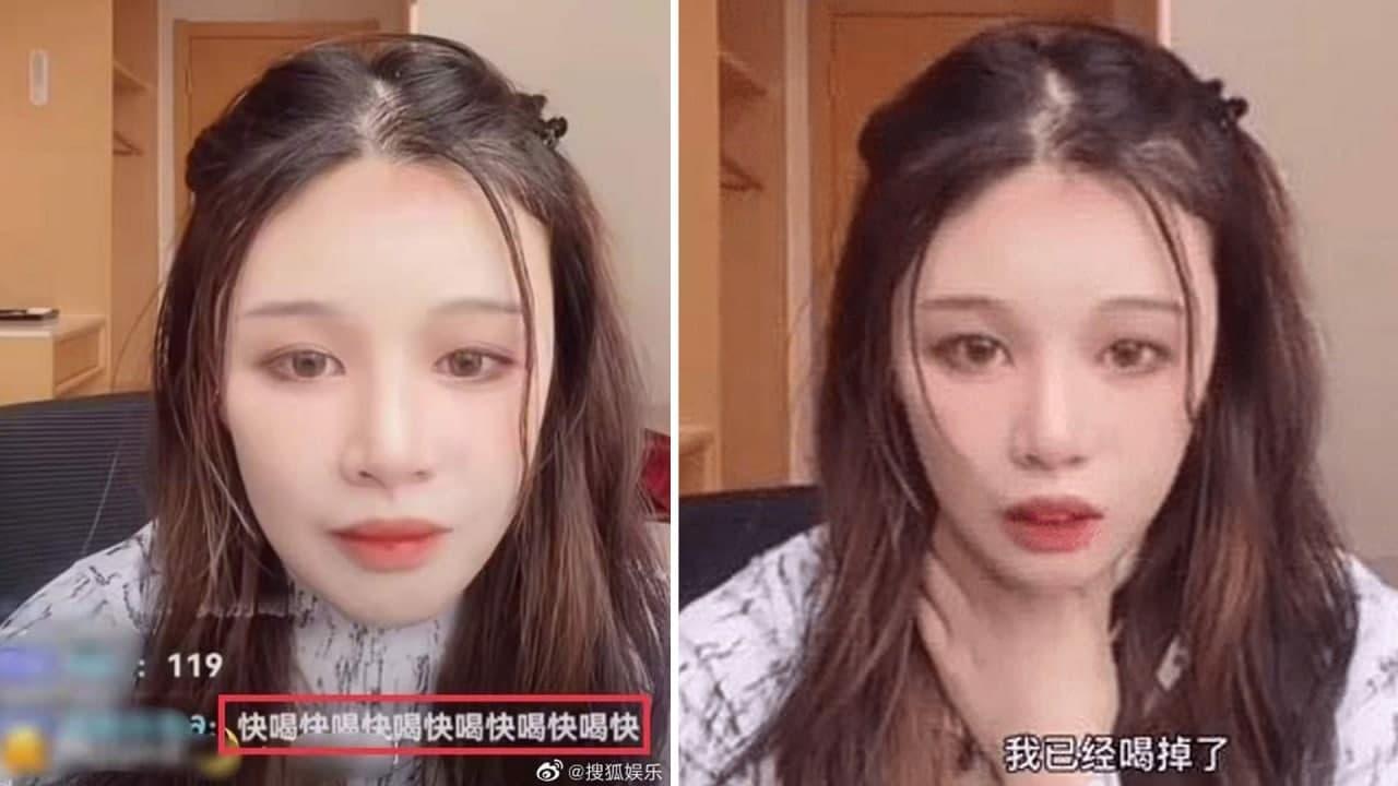 Блогерка из Китая Ло Сяо Мао Цзы умерла после прямого эфира, выпив напиток с содержанием пестицидов.