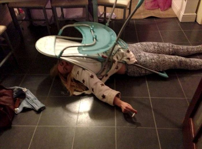 После двух бутылок вина