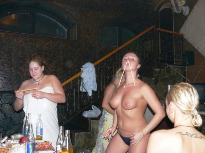 Пьные студентки в бане 5 фотография