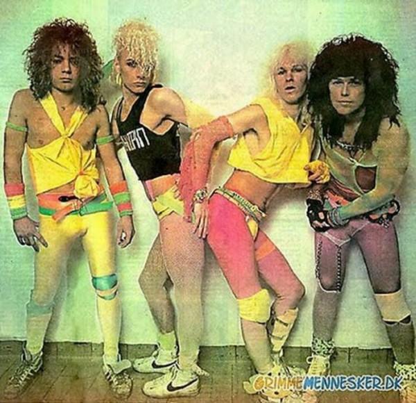 Крутые рокеры из 80-х