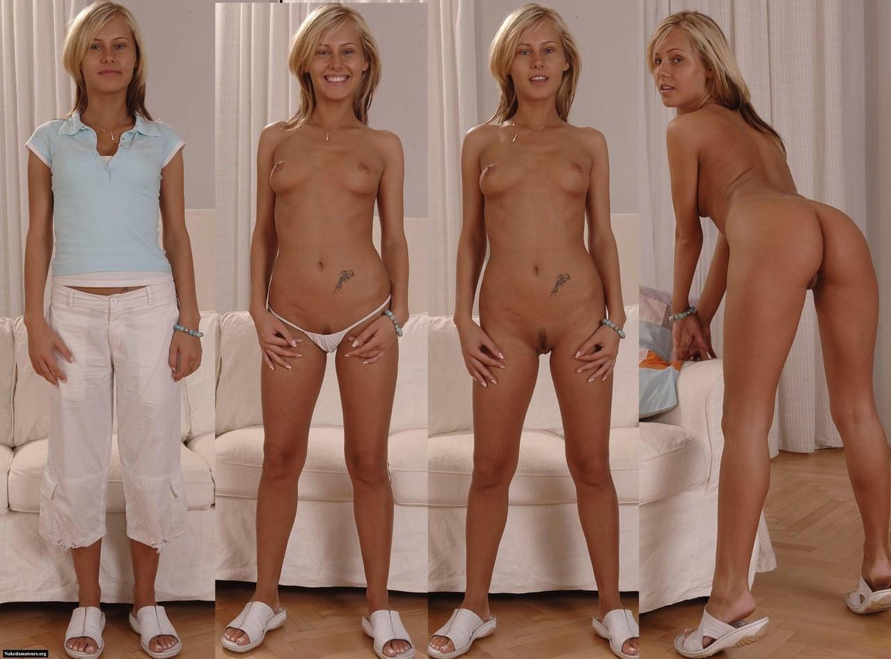Фото девушек сначала одетые потом голые 1 фотография