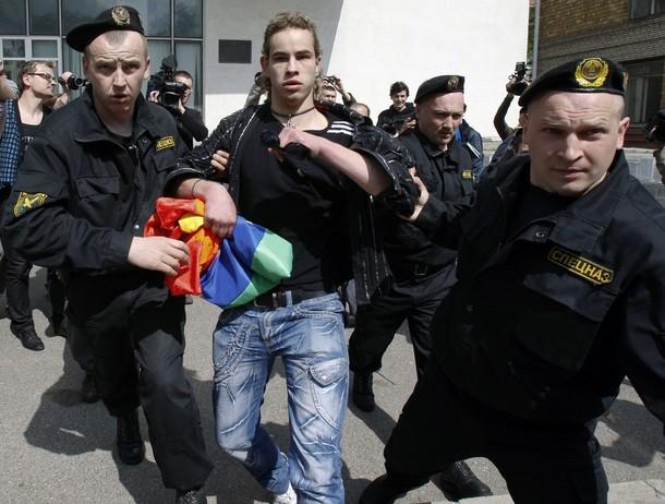 Минской милиции пресекли попытку проведения Славянского гей-парада в…