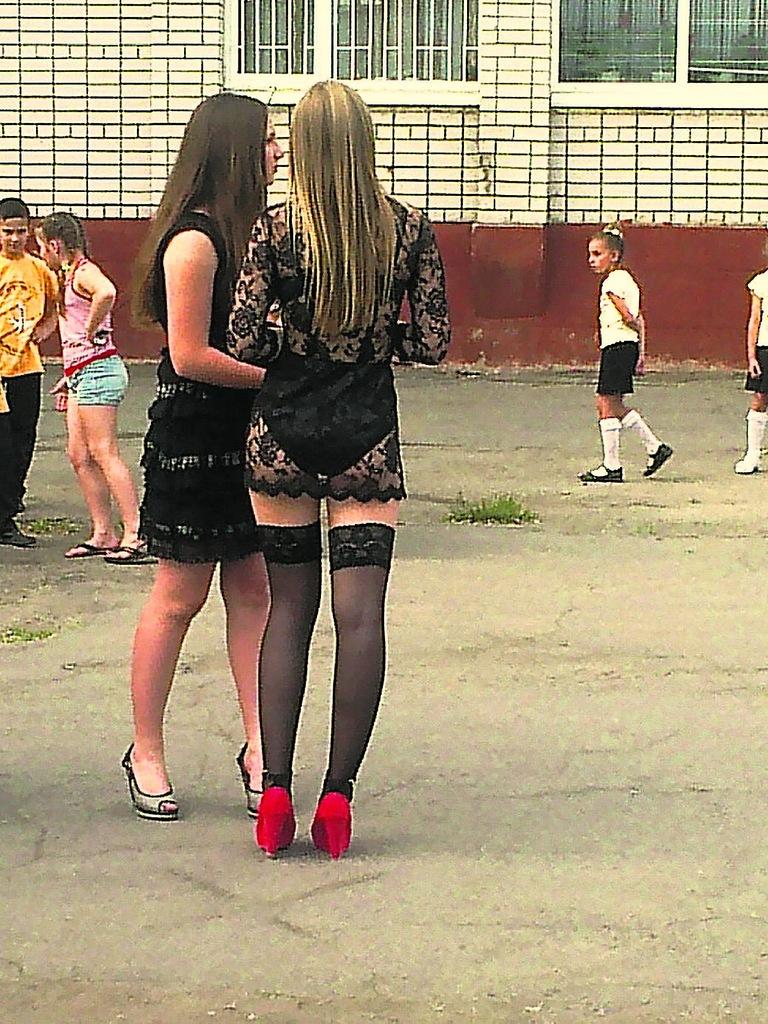 Русские мамки в чулках 9