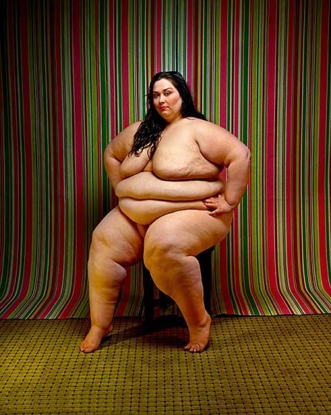 Самые жирные голые