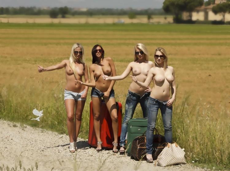 голые и смешные фото девушек