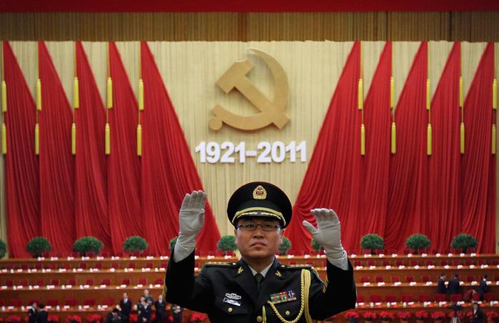Скандал в Китае - высокопоставленные чиновники занимаются групповым