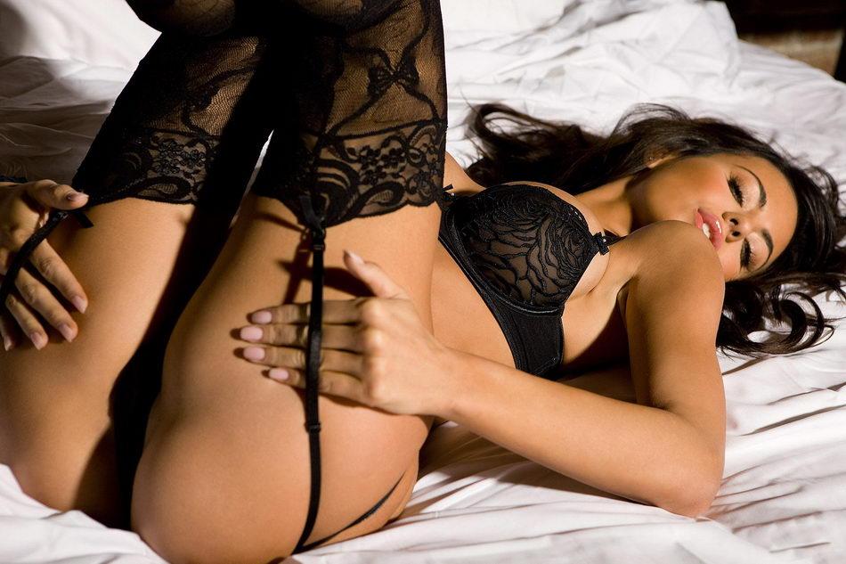 Фото порно черное белье 17783 фотография