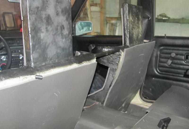 Суровый тюнинг авто по-белорусски…