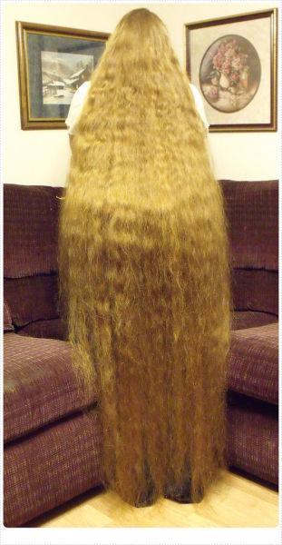 Самые красивые длинные волосы