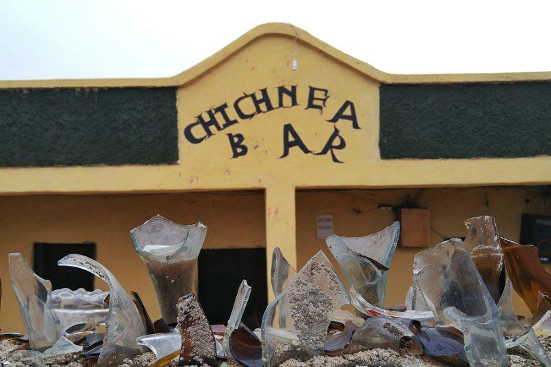 Злачный эфиопский бар, в котором можно набухаться, наплясаться и снять дешевую шлюху